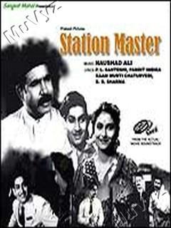 Station Master (1942) SL YT BW - Jagdish Sethi, Prem Adib, Ratna Mala, Kaushalya, Amirbai Karnataki